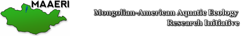 MAAERI: Mongolian American Aquatic Ecology Research Initiative